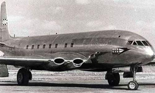 avión civil a reacción