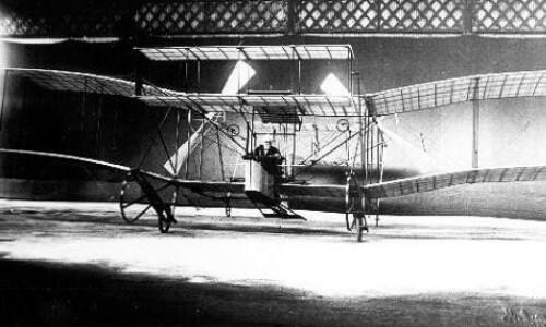 avión de Hiram Stevens Maxim