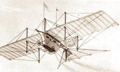 diseño del primer avión