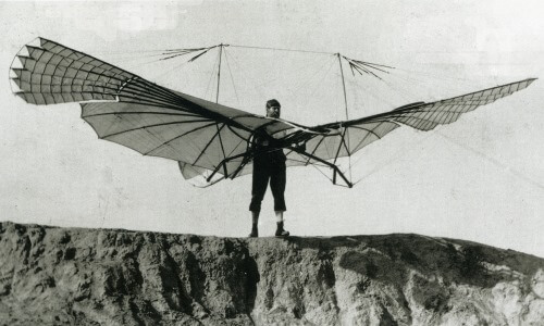 Evolución avión planeador
