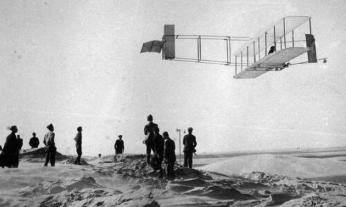 avión primer vuelo hermanos wright