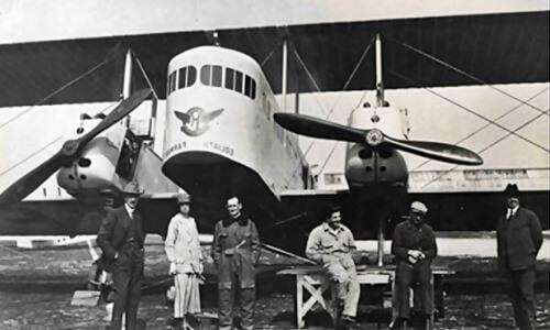 primera línea aérea de pasajeros