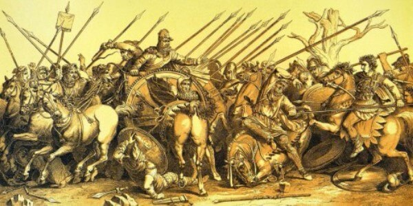 batalla Egipto Alejandro Magno