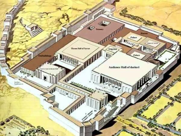 cómo era el Palacio de Persépolis