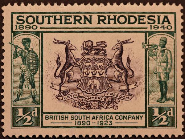 historia de la colonización de Zimbabue