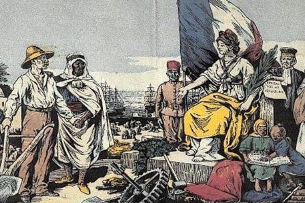 época colonial argelina