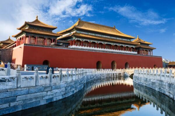cuándo se construyó la ciudad prohibida de pekín