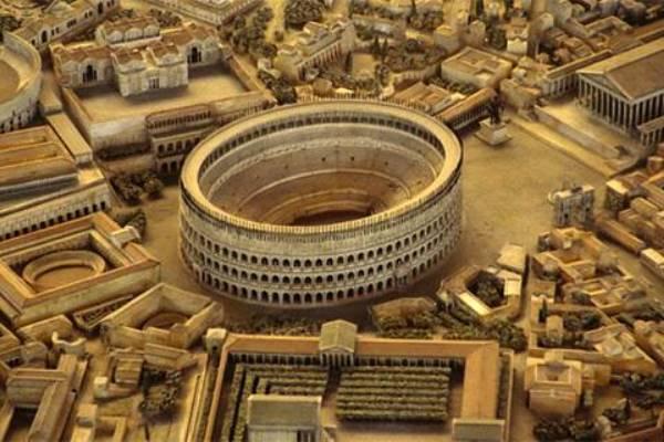 Cómo se construyó coliseo romano
