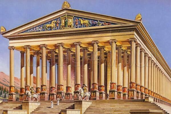 dónde está el templo de Artemisa