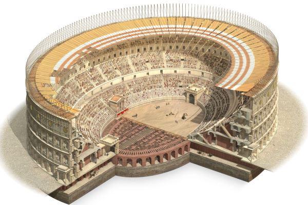quién construyo Coliseo de Roma