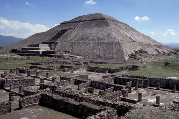 piramide del sol de teotihuacana
