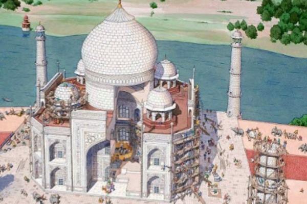 en qué año se construyó el Taj Mahal