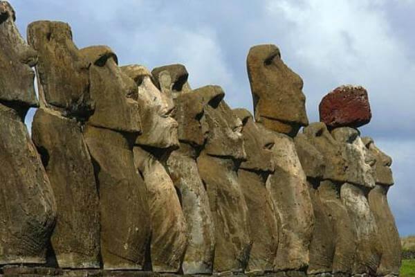 cuántos moai existen