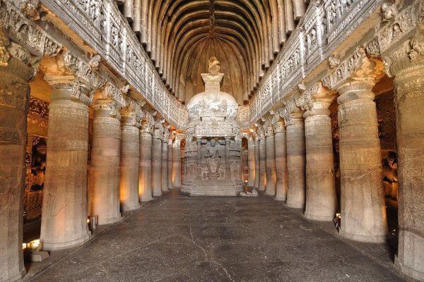 Las grutas de Ajanta historia