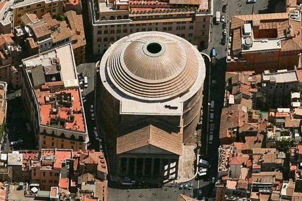 cuánto mide el Panteón de Roma