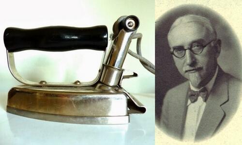 historia de la plancha eléctrica