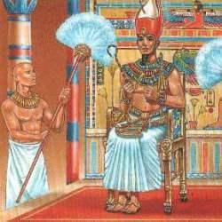 el abanico en el antiguo egipto
