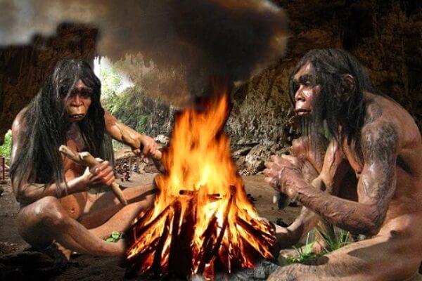 cuándo empezó el hombre a utilizar el fuego para cocinar
