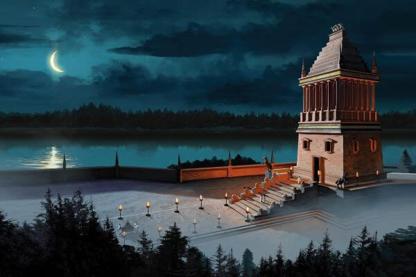 7 maravillas mausoleo de Halicarnaso