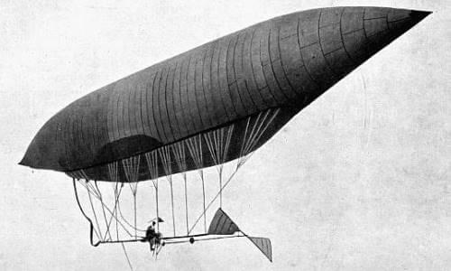 El nacimiento del dirigible