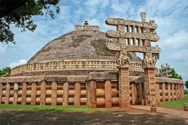 Stupa de Sanchi cómo es