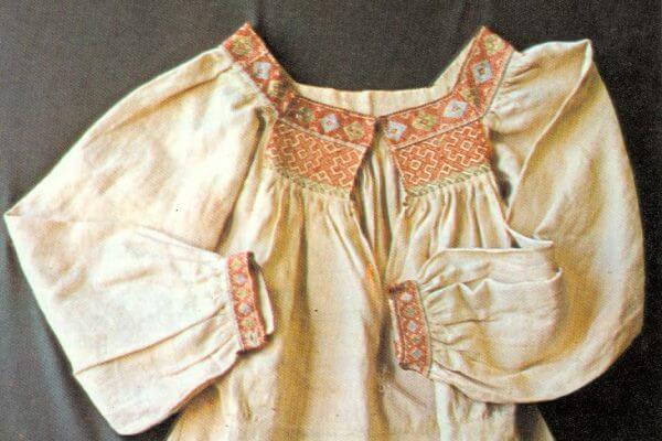 cómo eran las camisas antigüedad