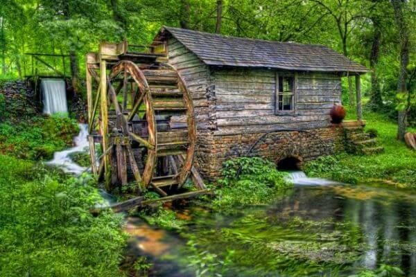 mejoras y evolución de los molinos de agua