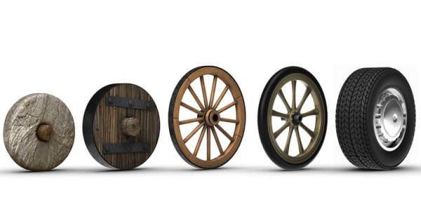 cómo ha sido la evolución del neumáticos