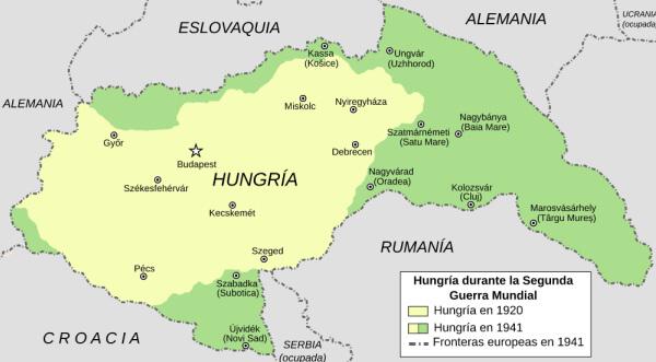 Hungría durante la Primera Guerra Mundial