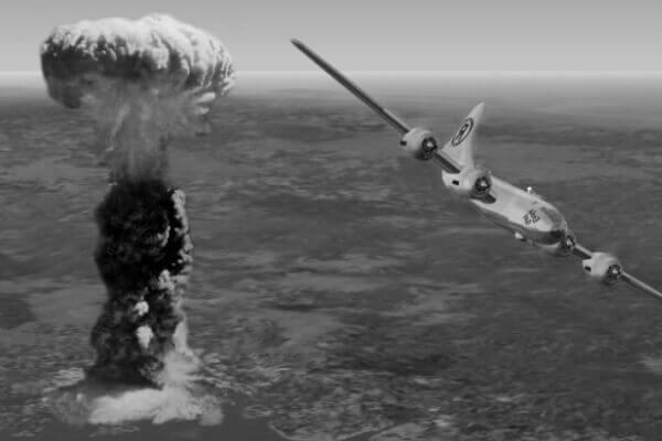 Lanzamiento bomba atómica en Hiroshima