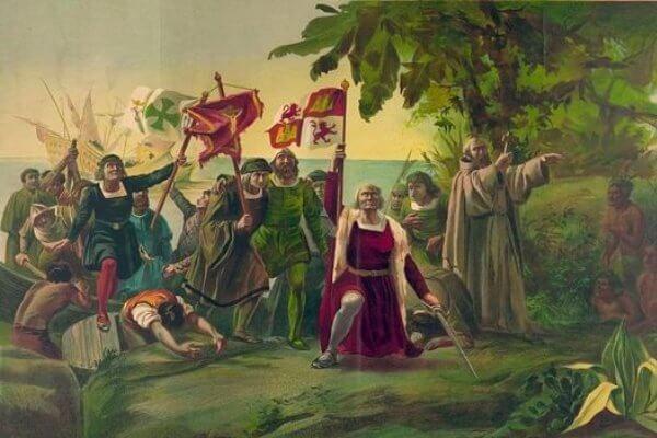 llegada de Colón a Nicaragua