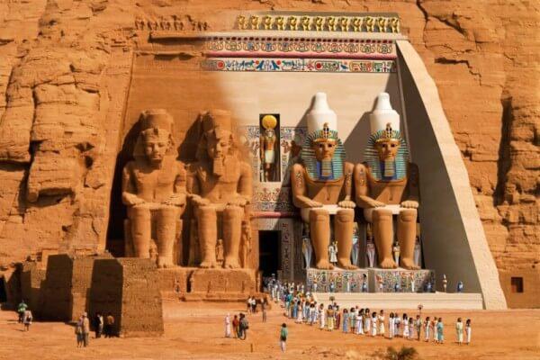 origen del templo de Ramses II