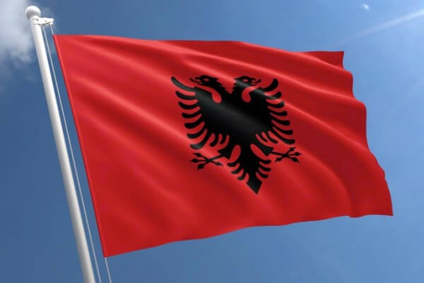 origen e historia de Albania
