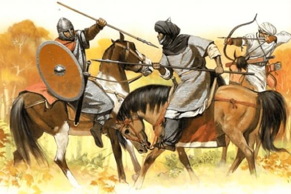 historia invasión musulmanes