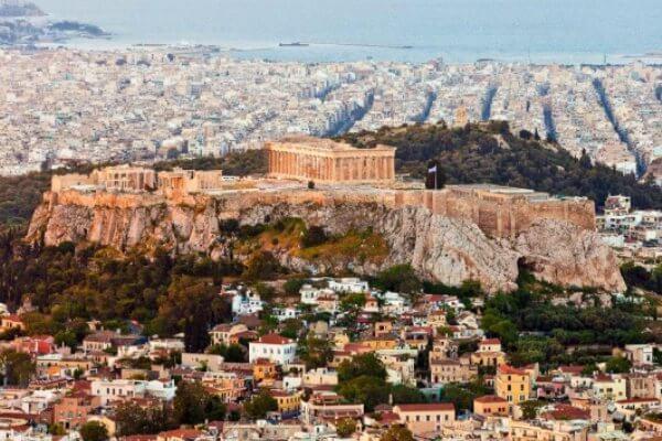 origen e historia Acrópolis Atenas
