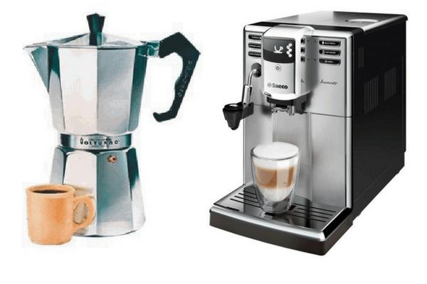 origen e Historia de la Cafetera