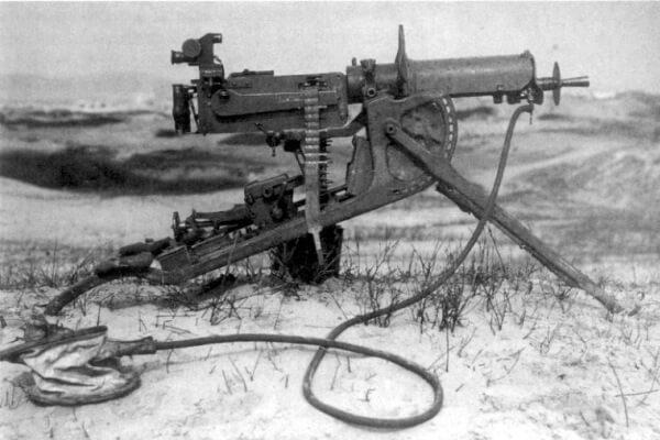 origen e historia de la ametralladora
