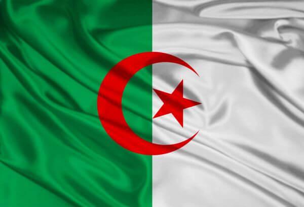 quién creó la bandera argelina
