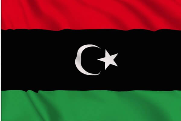 origen de la bandera libia