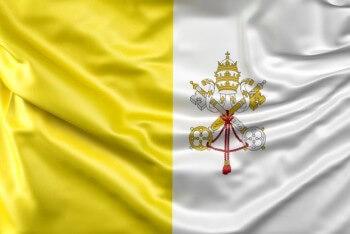 quién creó la Bandera del Vaticano