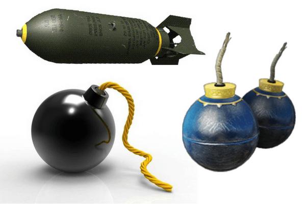 Historia de la bomba