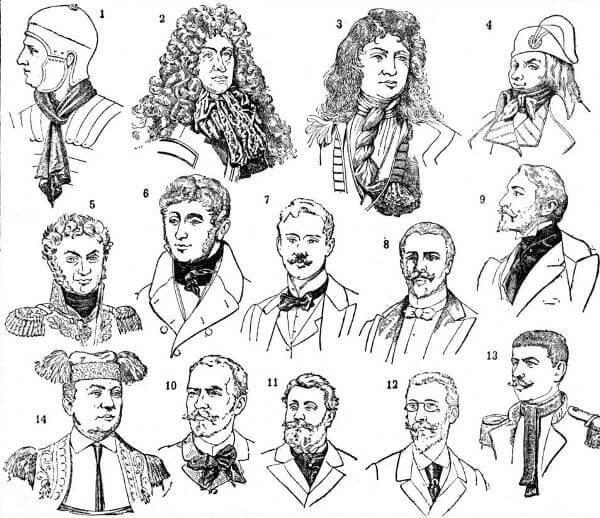 Historia y evolución de la corbata