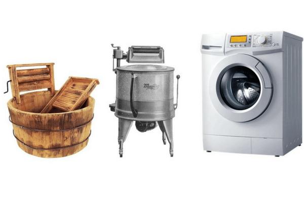Historia de la lavadora y su inventor