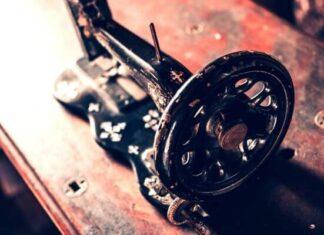 Origen de la máquina de coser