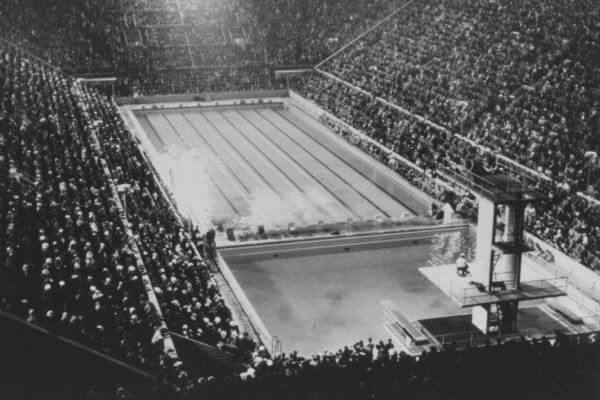 Historia de la natación olímpica