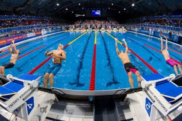 historia del campeonato del mundo de natación