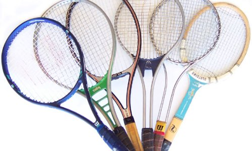 historia de la raqueta de tenis