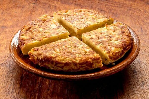 Origen de la tortilla