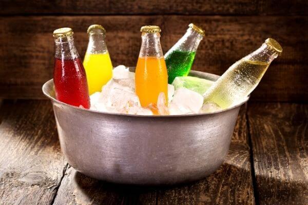 Origen de las bebidas gaseosas
