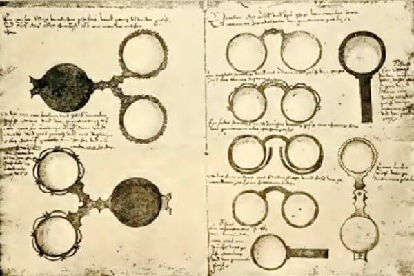 cómo se inventaron las gafas